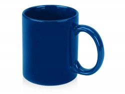 Чашка керамическая под нанесение синяя