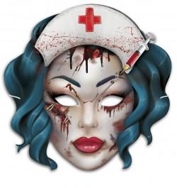 Маска карнавальная Мертвая медсестра
