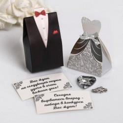 Подарки гостям на свадьбу с пожеланиями пирамидка
