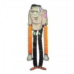 Декор Хэллоуин с ногами Франкенштейн