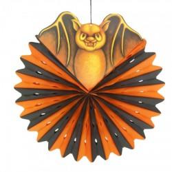 Декор подвесной Летучая мышь с кругом