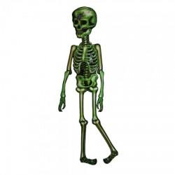 Декор настенный (150см) Скелет зеленый