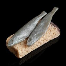 Мыло фигурное Хлеб с килькой