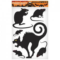 Набор наклеек для украшения Кошки и крысы