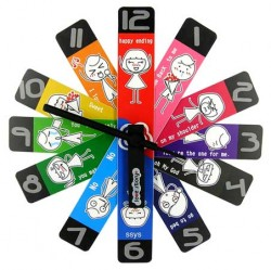 Часы Лепестки