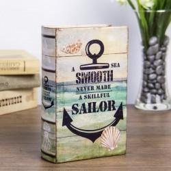 """Сейф-книга дерево """"Опытный моряк"""""""