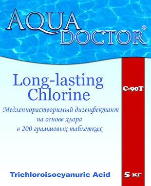 Дезинфектанты на основе хлора AquaDoctor C90-T