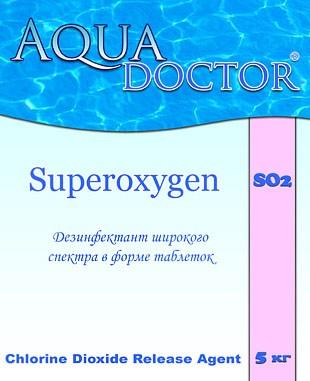 Дезинфектант на основе активного кислорода AquaDoctor SO2