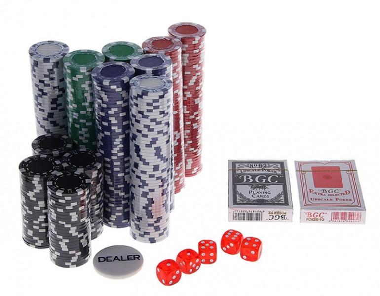 Игровой набор в покер на 500 фишек