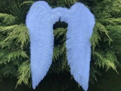 Крылья Ангела большие белые 150 х 120 см