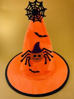 Колпак оранжевый с глазастым пауком