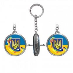 Брелок двухсторонний Украина Герб