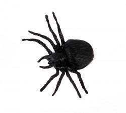 Паук средний чёрный пластмассовый 2.5 см