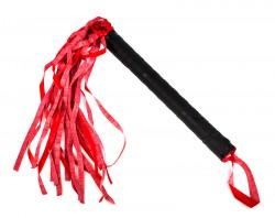 Плетка ласковая черно-красная