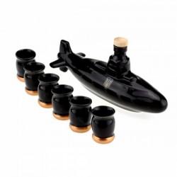 Коньячный набор подводная лодка