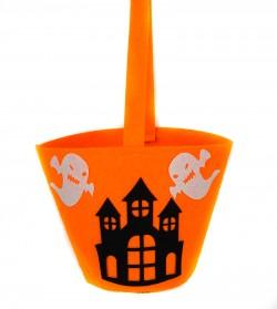 Ведро для конфет Хэллоуин