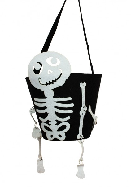 Ведро для конфет Скелет