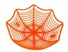 Тарелка Паутинка оранжевая