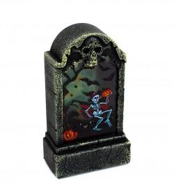 Светящиеся надгробье Скелет
