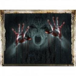 Наклейка интерьерная Злой дух