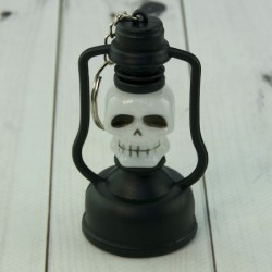 Брелок Хэллоуин лампа Череп