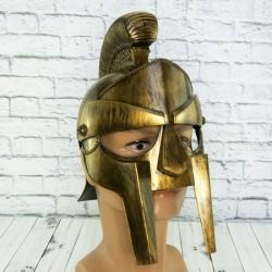 Шлем гладиаторский Максимус золото