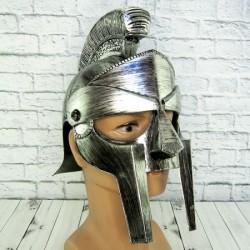 Шлем гладиаторский Максимус серебро