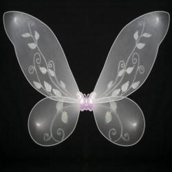 Крылья Бабочки средние белые 40х40см