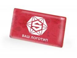 Значок металлический Прямоугольник