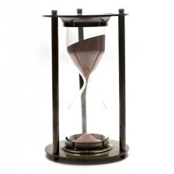 Часы песочные бронзовые малые