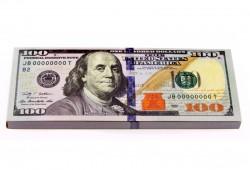 Пачка баксов  блокнот с отрывными листками
