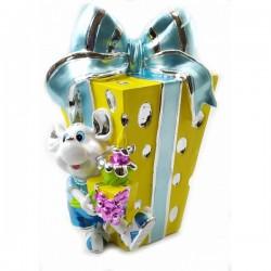 Мышка с подарком Копилка