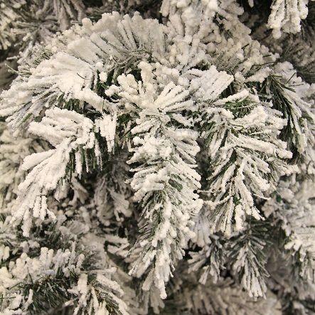 Сосна Dinsmore Frosted зеленая со снегом 60 см.