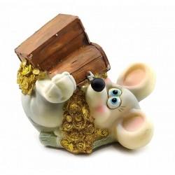 Мышка с сундуком копилка