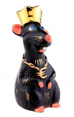 Крыса царь графин штоф - символ года 2020