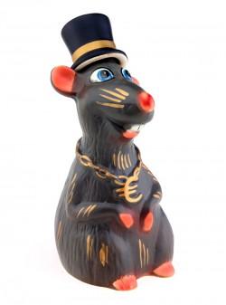 Крыса джентльмен графин штоф – символ года 2020