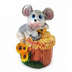 Мышка копилка полимерная