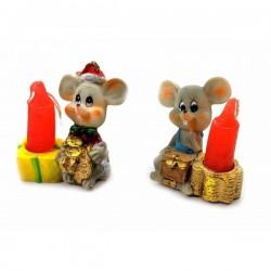 Мышка со свечей
