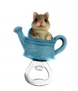 Магнит открывашка Мышка в лейке