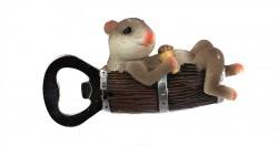Магнит открывашка Мышка в бочке