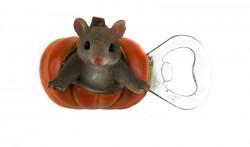 Магнит открывашка Мышка в тыкве