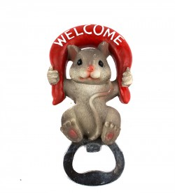 Магнит открывашка Мышка welcome
