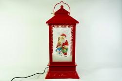 Декоративный фонарь красный