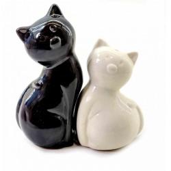 Солонка с перечницей Кошки