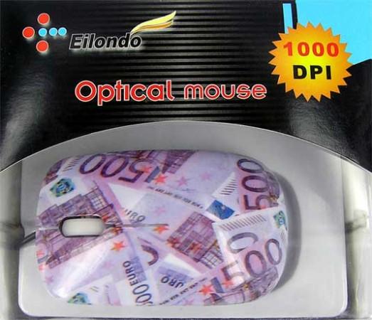 """Компьютерная мышь """"500 EURO"""" mini"""