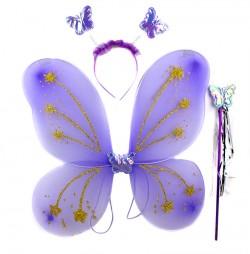 Набор Бабочки фиолетовые