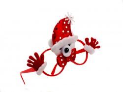 Очки новогодние Мишка