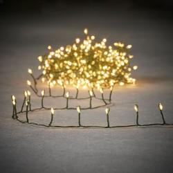 Гирлянда новогодняя Luca Lighting Змейка белая