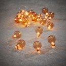 Гирлянда новогодняя Luca Lighting Оранжевые лампочки
