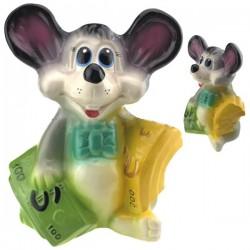 Копилка мышка с пачками денег